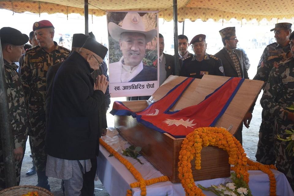 विमान दुर्घटनामा ज्यान गुमाएका नागरिकप्रती श्रद्धाञ्जलि व्यक्त गर्दै प्रधानमन्त्री केपीशर्मा ओली